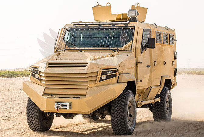 Armoured Personnel Carrier Ghana - panthera-n6