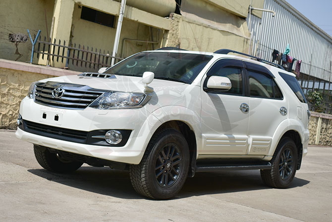 Armoured SUV Ghana - Toyota Fortuner