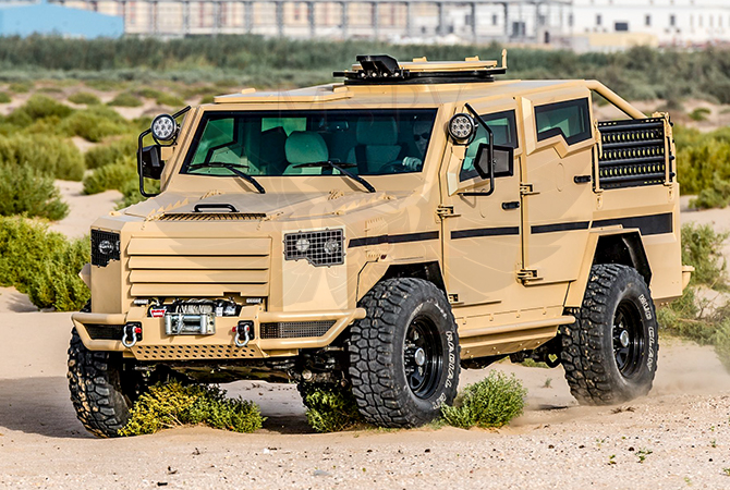 Armoured Patrol Vehicles Ghana - Panthera T2V8