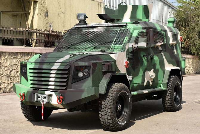 Armoured Personnel Carrier Ghana - Panthera T6F