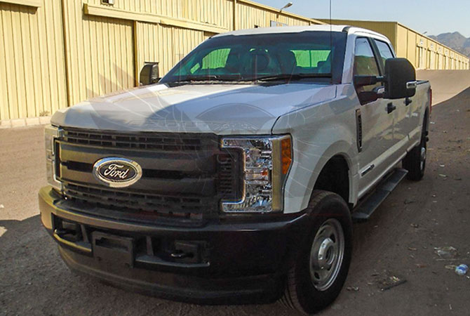 Armoured Pickup Ghana - Ford F350