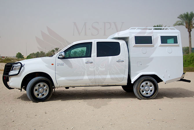Armoured Troop Carrier Ghana - Toyota Hilux